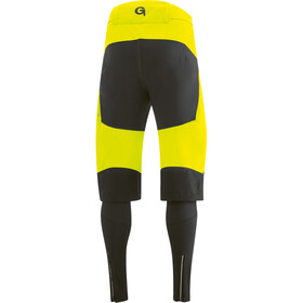 Gonso Sirac 3-in-1 Softshell Broek Pad Heren, safety yellow